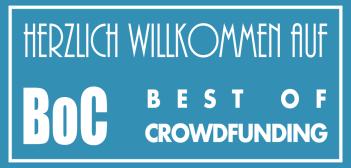 Herzlich Willkommen auf Best of Crowdfunding