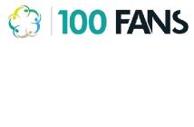 100 Fans logo