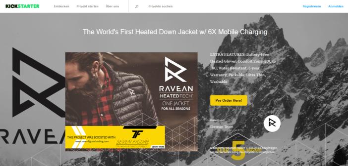 RAVEAN Kickstarter