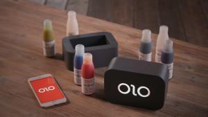 OLO 3D-Drucker Aufbau