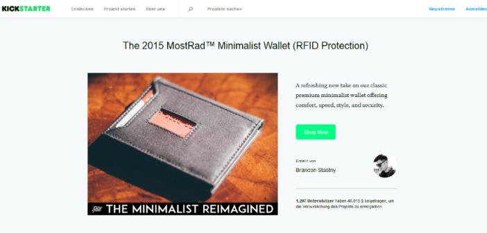 MostRad Kickstarter Kampagne