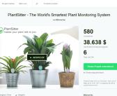 PlantSitter – Bluetooth Pflanzensensor